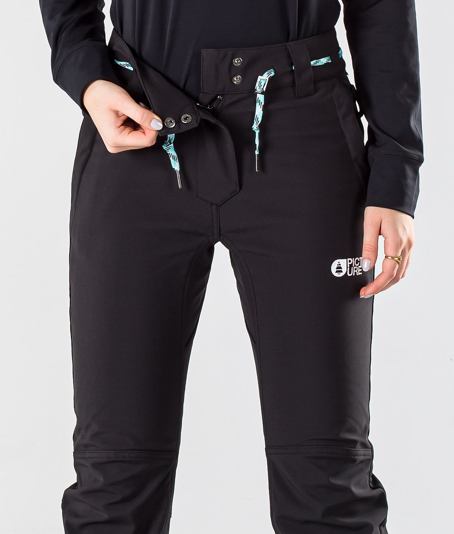 Picture Mary Slim Women's Ski Pants Black