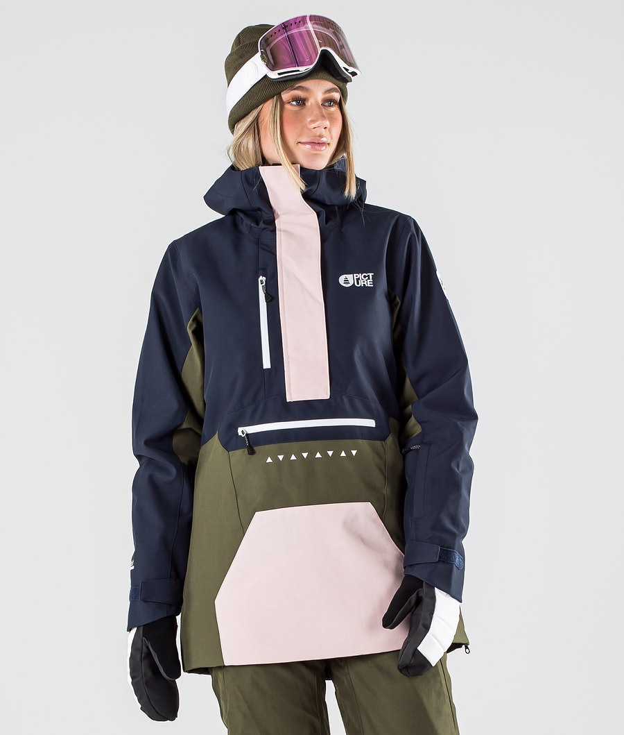 Picture Season Skijacke Army Green Dark Blue