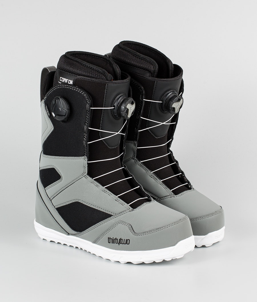 Thirty Two STW Double Boa '20 Snowboard Schoenen Grey/Black