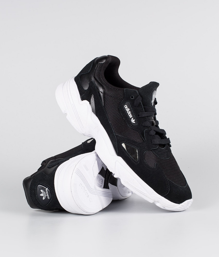 Adidas Originals Falcon Shoes Core Black/Core Black/Footwear White