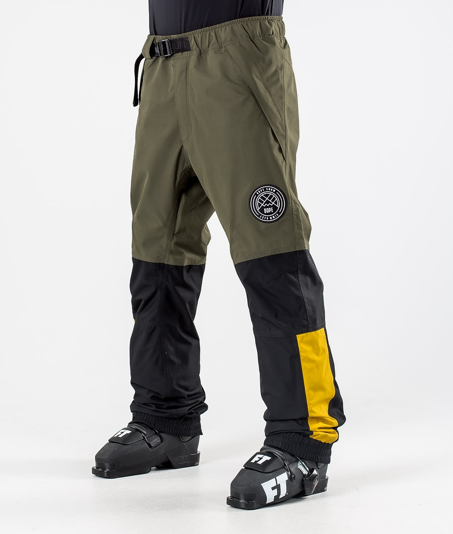 Dope Blizzard LE Ski Pants Green Multicolour