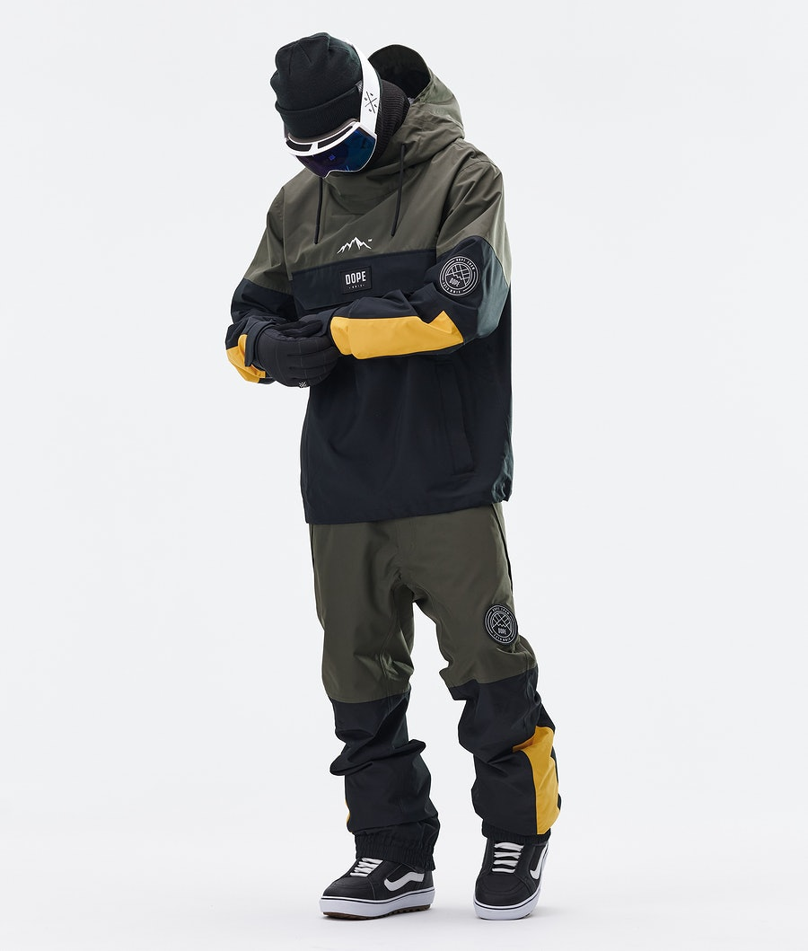 Dope Blizzard LE Snowboard Jacket Green Multicolour