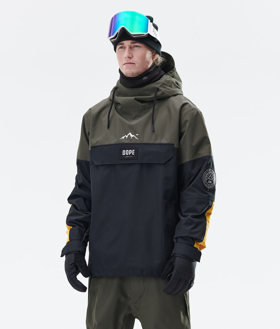 Dope Blizzard LE Ski Jacket Green Multicolour