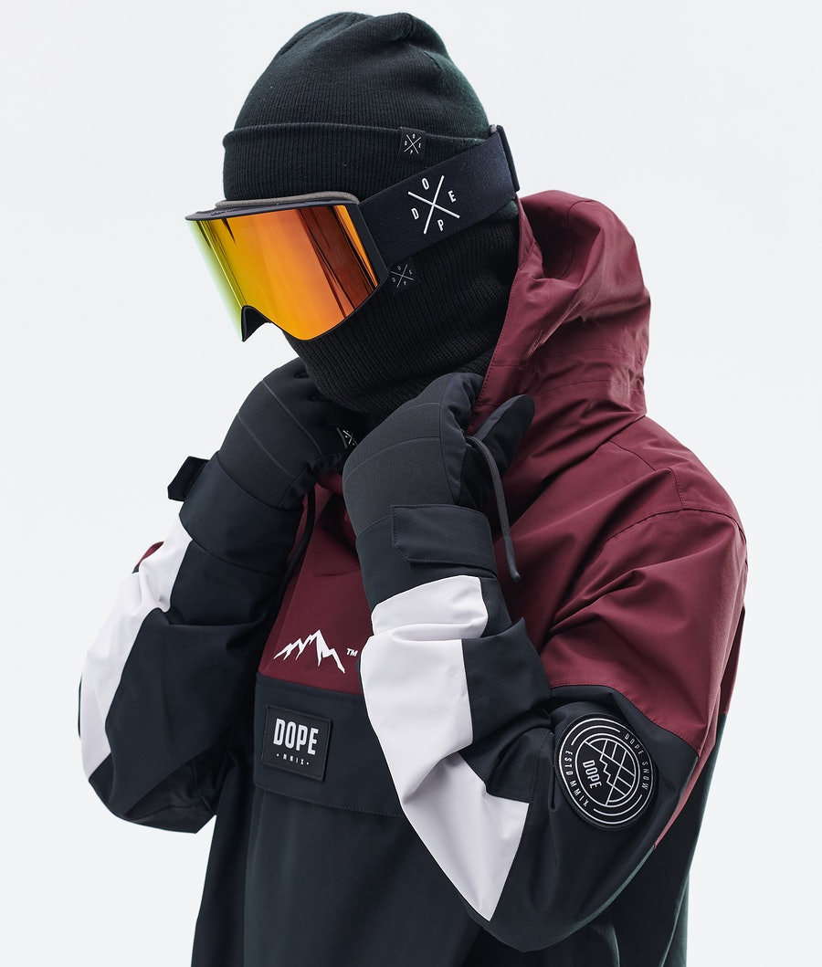 Dope Blizzard LE Giacca da Snowboard Burgundy Multicolour
