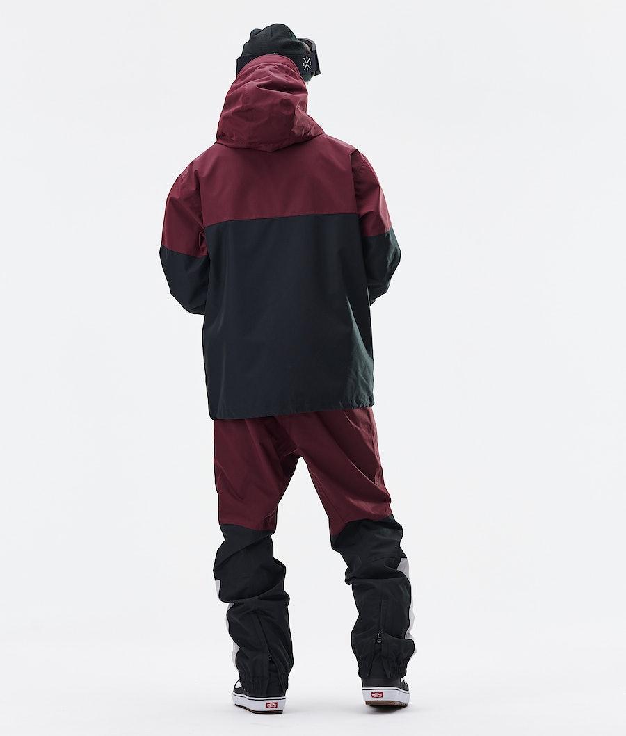 Dope Blizzard LE Snowboard Jacket Burgundy Multicolour