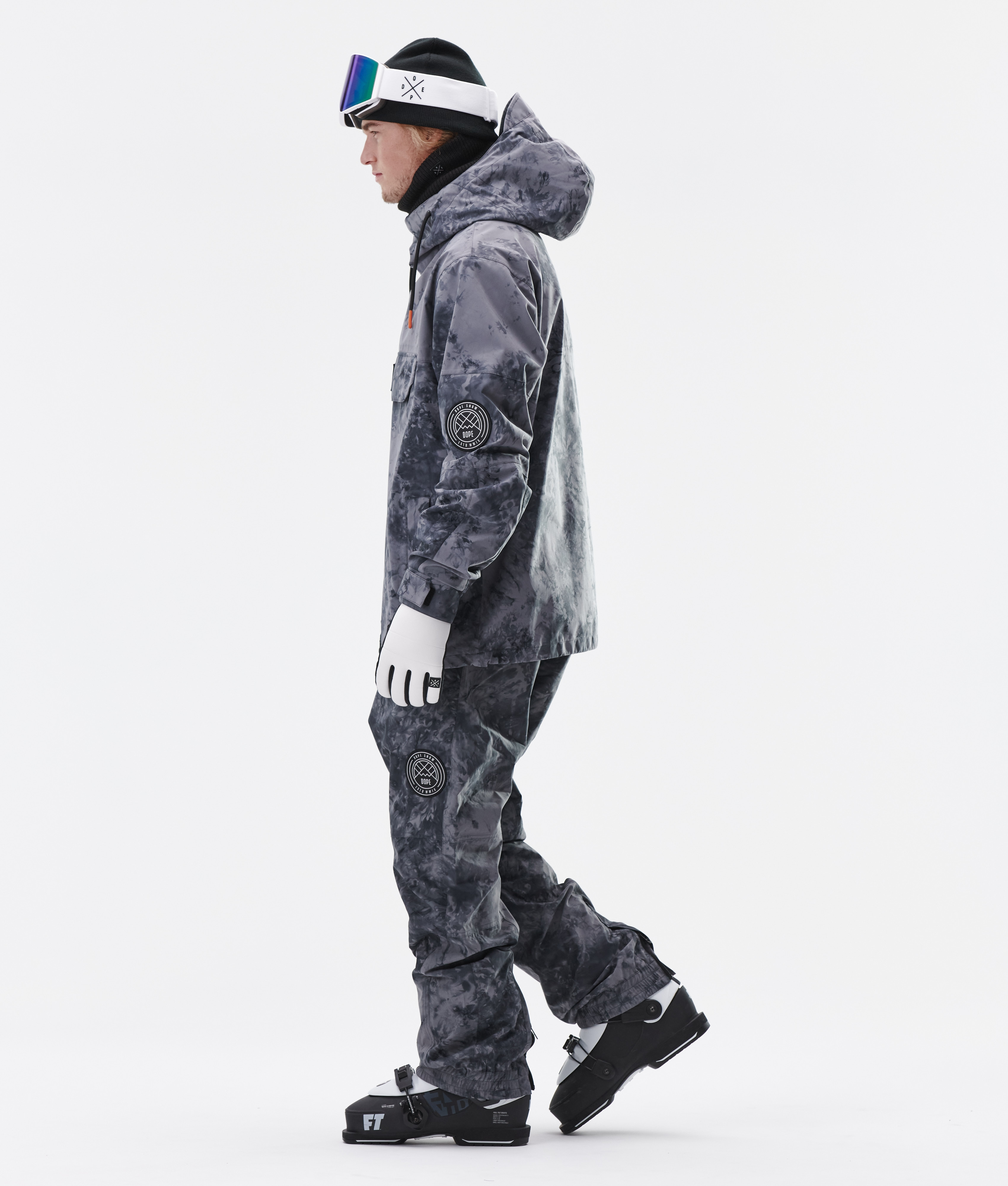 Dope Blizzard LE Ski Jacket Tiedye   Ridestore.com