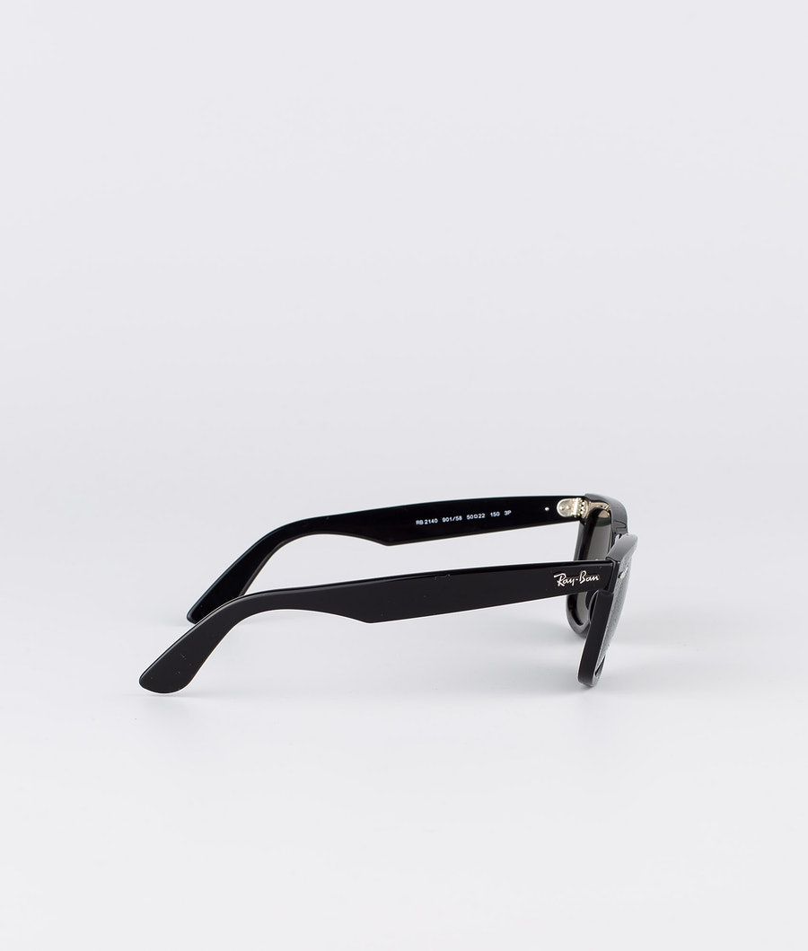 Ray Ban Wayfarer Polarized Sonnenbrille Black