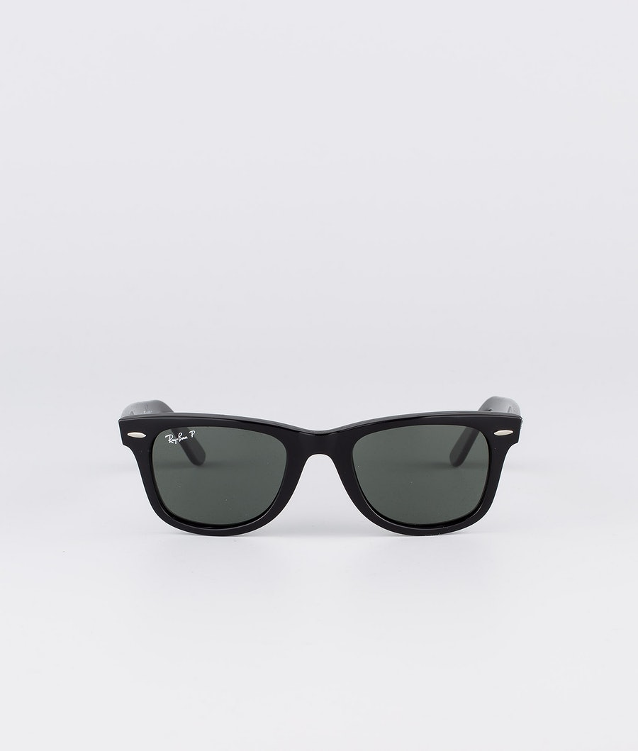 Ray Ban Wayfarer Polarized Solbriller Black