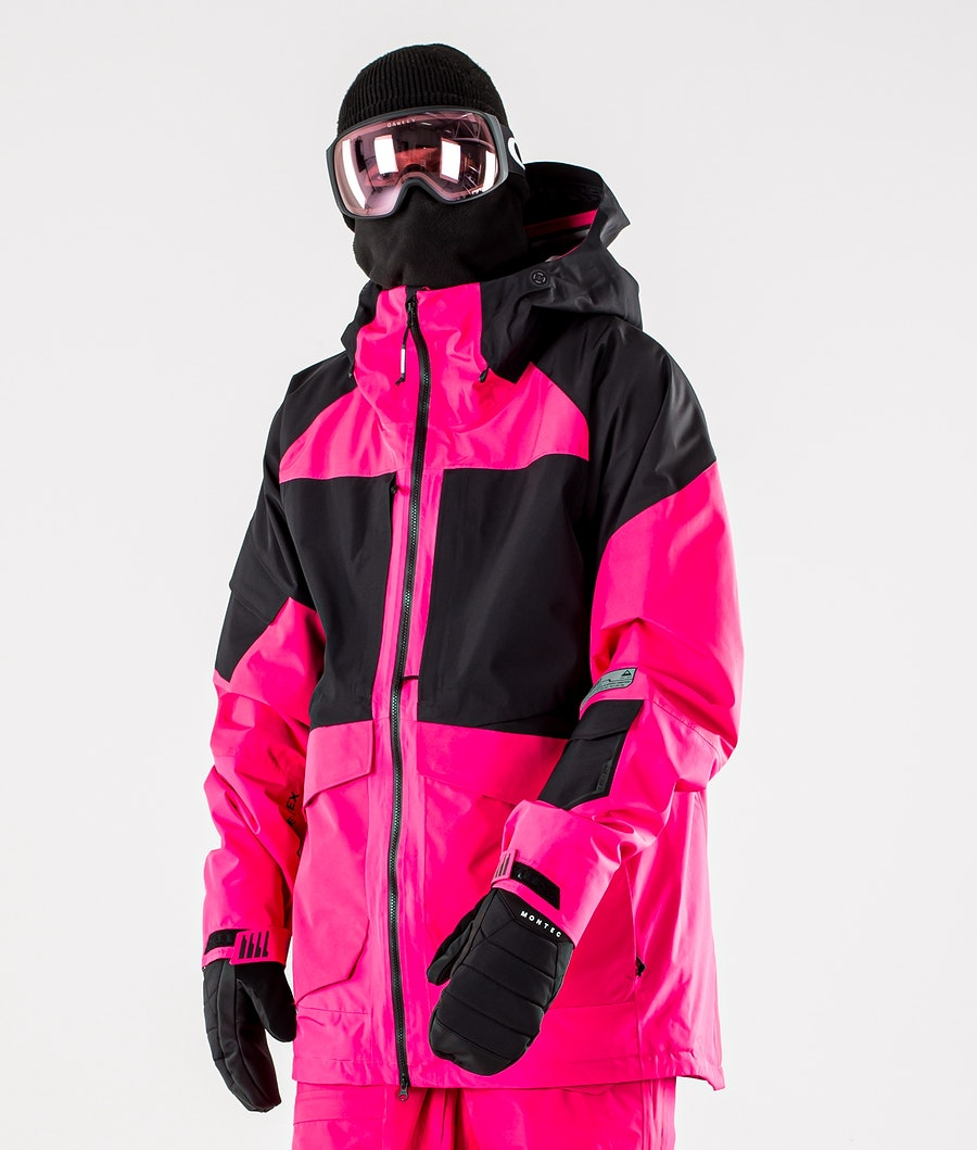 Burton GoreTex Banshey 2L Snowboard jas Punchy Pink/True Black
