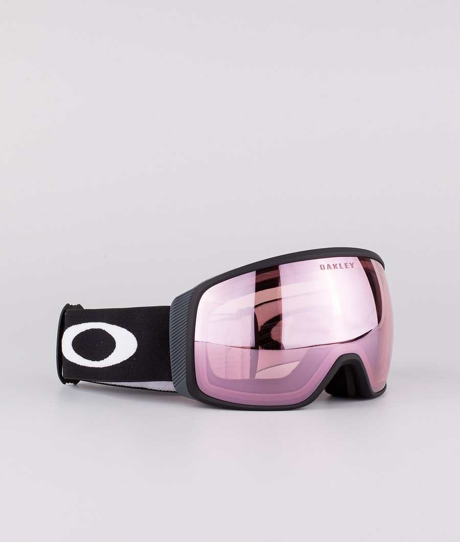 Oakley Flight Tracker XL Masque de ski Matte Black With Prizm Snow Hi Pink Lens