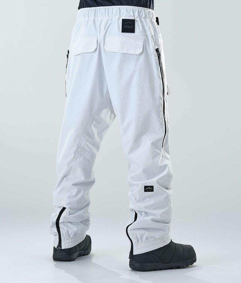 Dope KB Antek Pantalon de Snowboard White