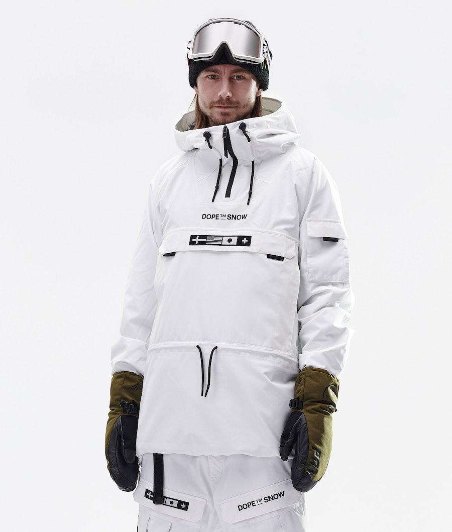 Dope KB Annok Snowboardjacke White