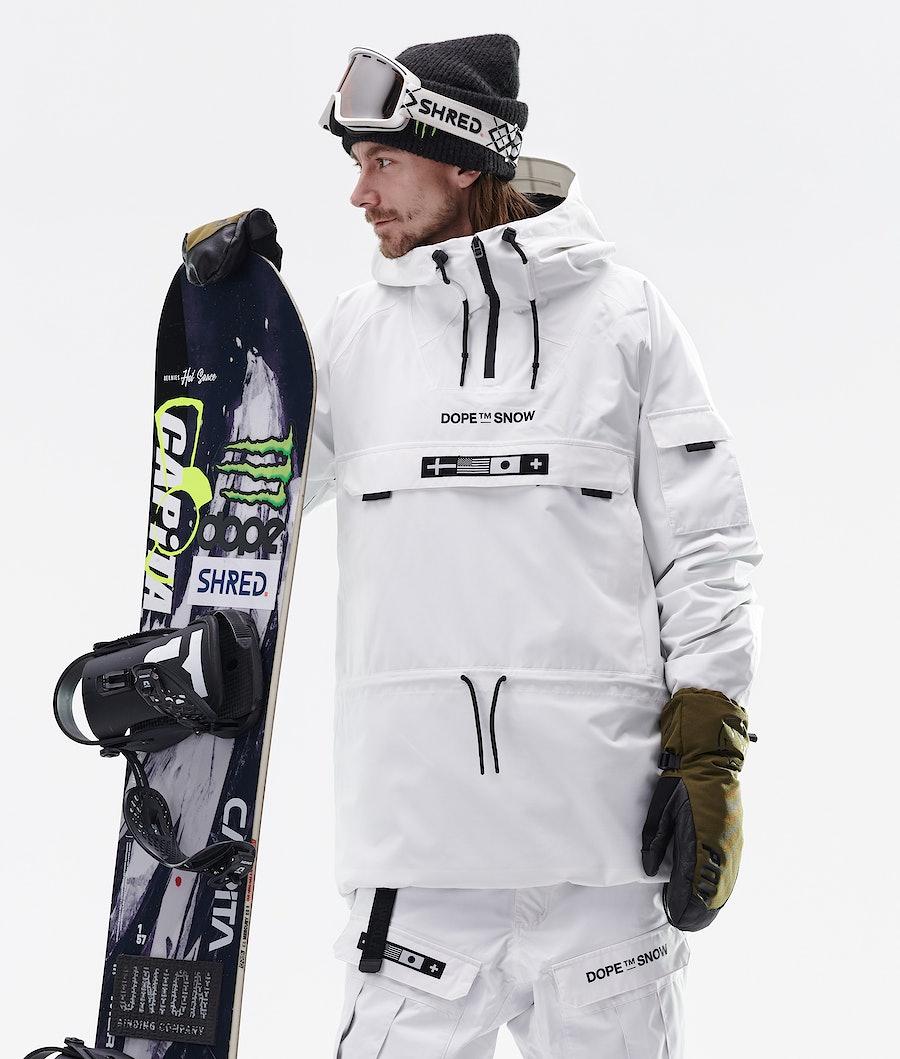 Dope KB Annok Snowboardjacka White
