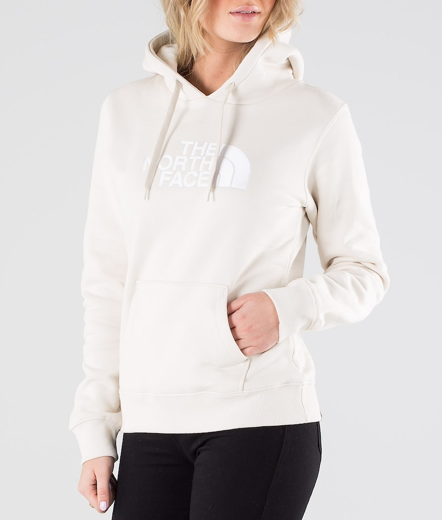 The North Face Drew Peak Hood Dame Vintage White/Tnf White