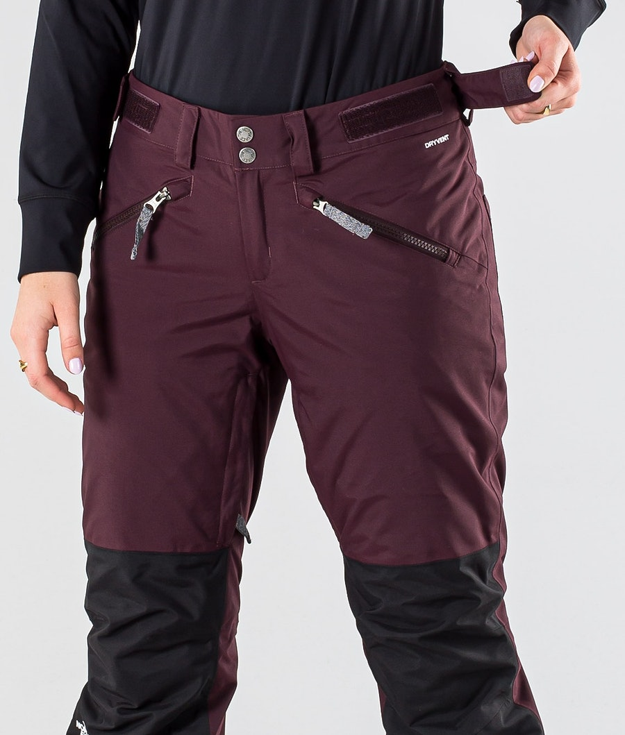 The North Face Aboutaday Women's Snowboard Pants Root Brown/Tnf Black
