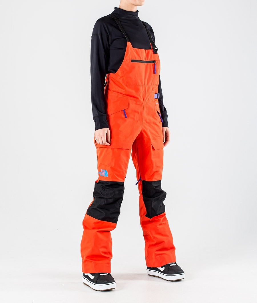 The North Face Team Kit Snowboard Pants Flare/Tnf Black
