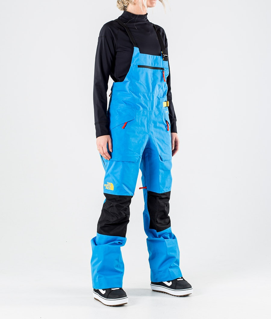 The North Face Team Kit Lumilautailuhousut Clear Lake Blue/Summit Gold