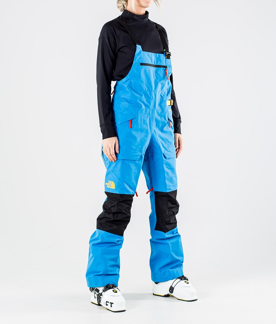 The North Face Team Kit Pantalon de Ski Clear Lake Blue/Summit Gold
