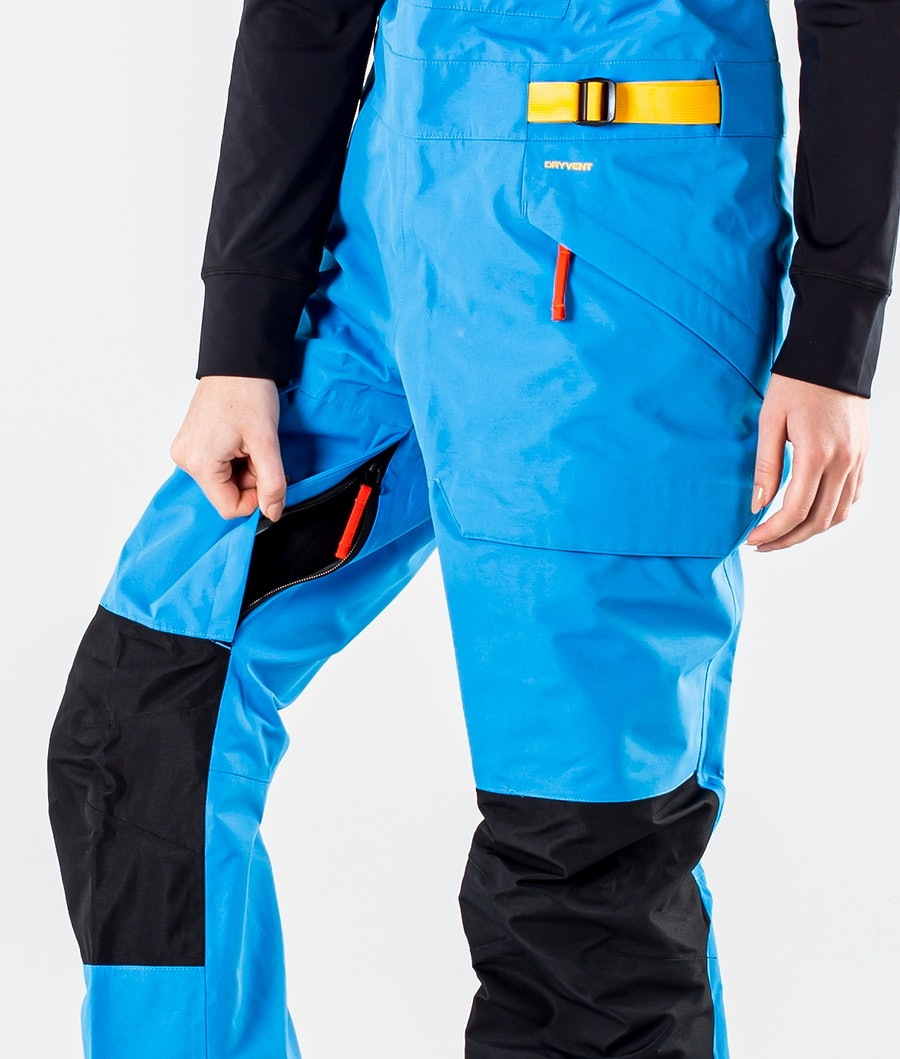 The North Face Team Kit Snowboardbyxa Dam Clear Lake Blue/Summit Gold