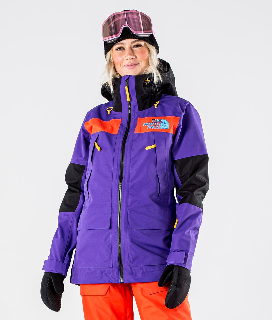The North Face Team Kit Snowboard Jacket Peak Purple/Flare/Tnf Blk