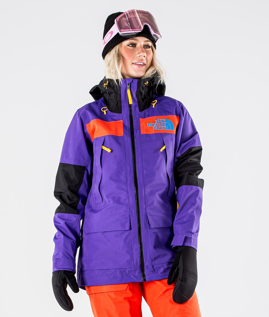 The North Face Team Kit Skidjacka Peak Purple/Flare/Tnf Blk
