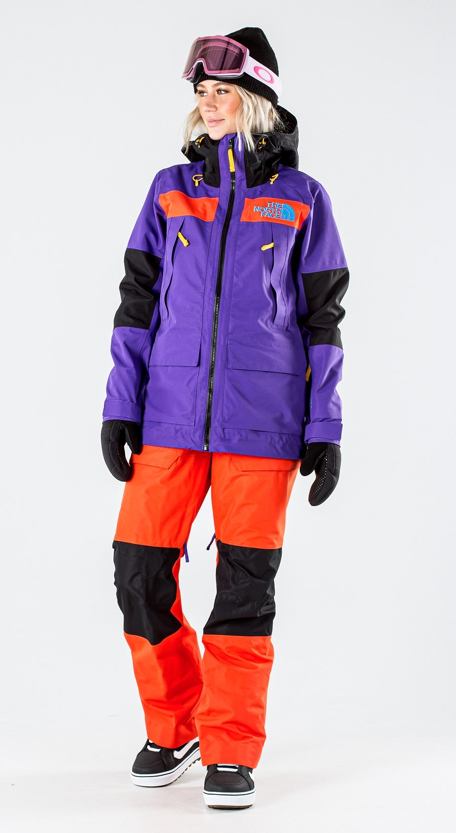 The North Face Team Kit Peak Purple/Flare/Tnf Blk Snowboardkläder Multi