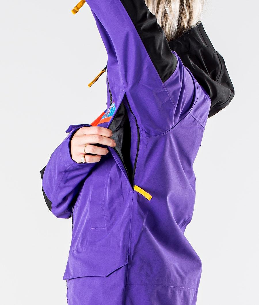 The North Face Team Kit Snowboardjacka Dam Peak Purple/Flare/Tnf Blk