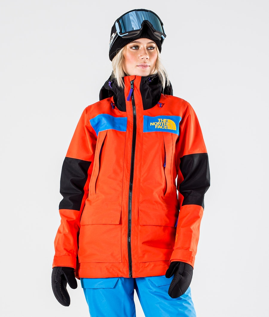 The North Face Team Kit Lumilautailutakki Flare/Bomber Blue/Tnf Blk