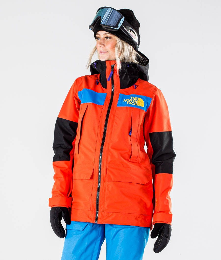 The North Face Team Kit Skijakke Flare/Bomber Blue/Tnf Blk