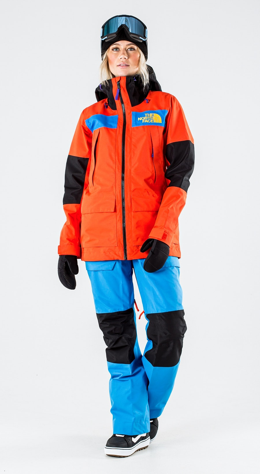 The North Face Team Kit Flare/Bomber Blue/Tnf Blk Snowboardkläder Multi