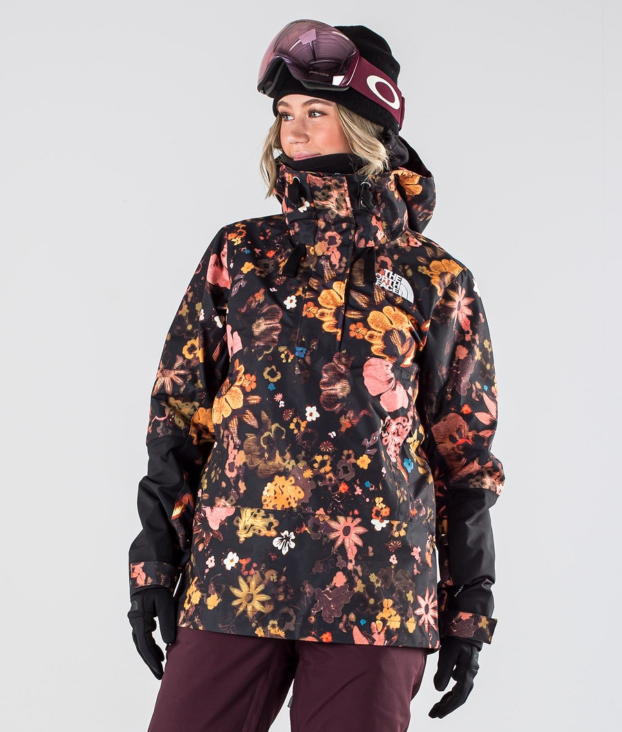 The North Face Tanager Skidjacka Tnf Black/Tnf Black Flower Child Multi Print