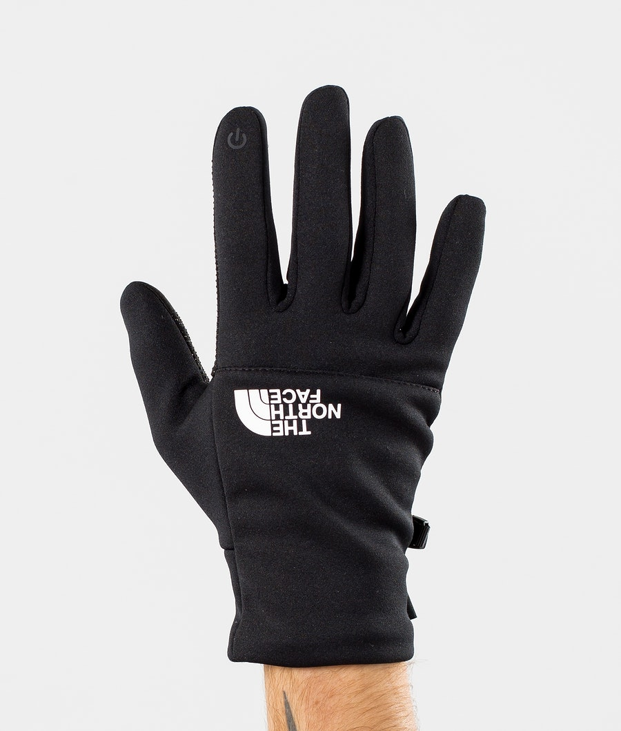 The North Face Etip Recycled Guanti da Neve Tnf Black/Tnf White