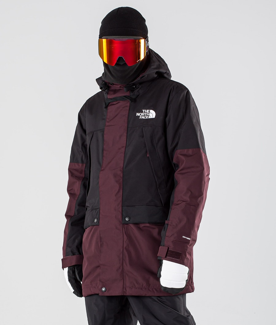 The North Face Goldmill Parka Ski Jacket Root Brown/Tnf Black