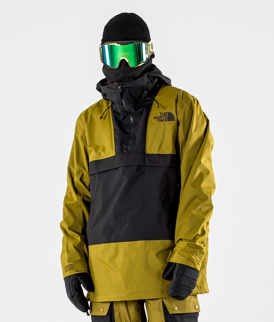The North Face Silvani Anorak Giacca da Snowboard Fir Green/Tnf Black