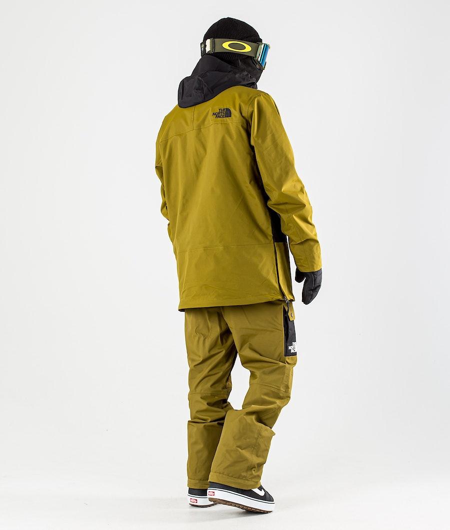 The North Face Silvani Anorak Snowboardjacka Fir Green/Tnf Black