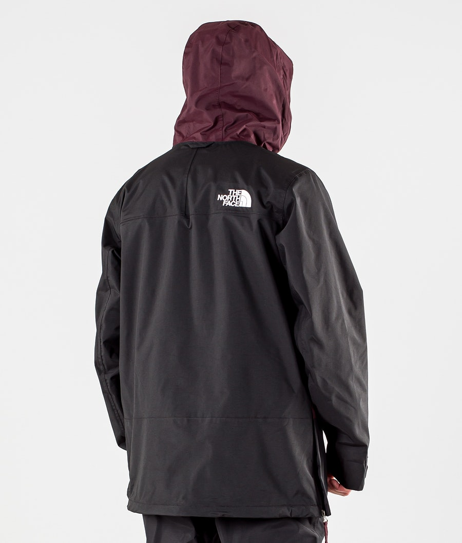 The North Face Silvani Anorak Snowboardjacka Root Brown/Tnf Black