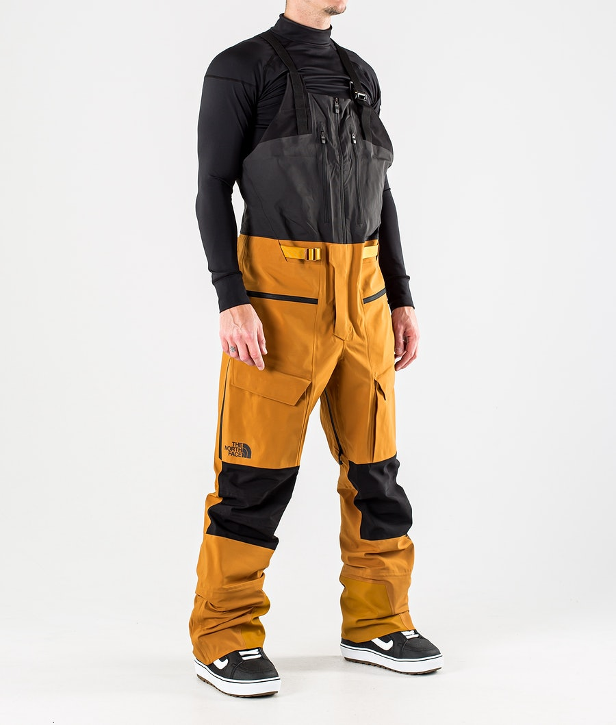 The North Face A-Cad Futurelight Bib Snowboardbyxa Timber Tan/Tnf Black