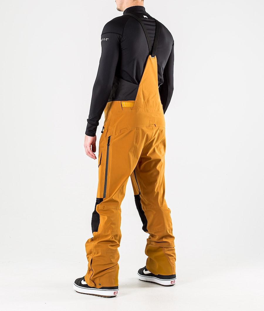 The North Face A-Cad Futurelight Bib Snowboardbyxa Timber Tan/Tnf Black