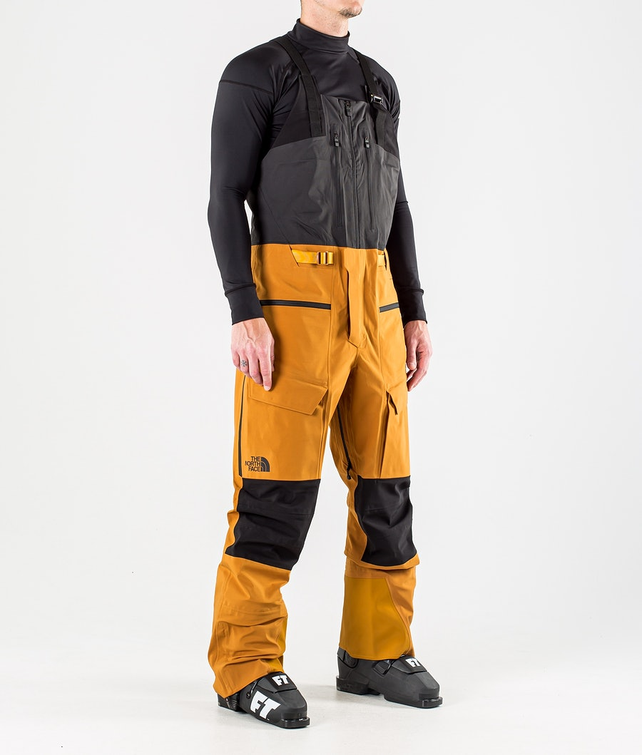 The North Face A-Cad Futurelight Bib Skibroek Timber Tan/Tnf Black