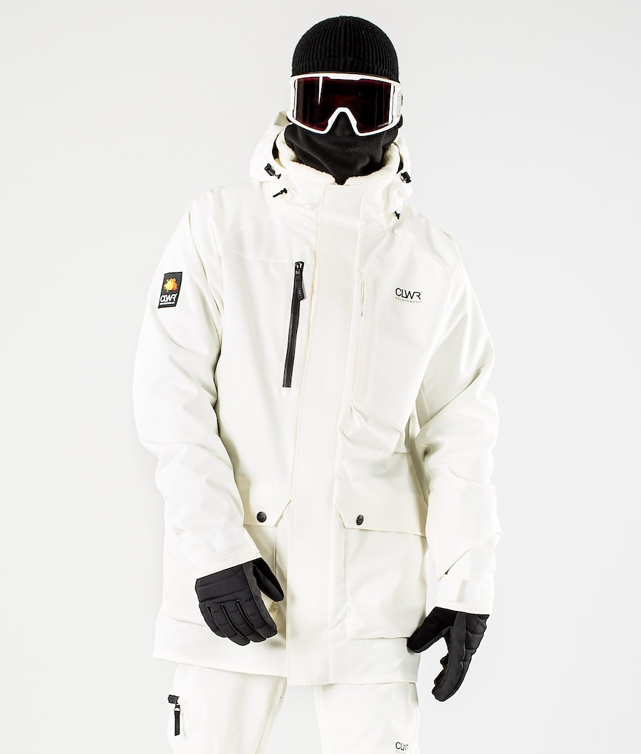 ColourWear Spine Skijakke Offwhite