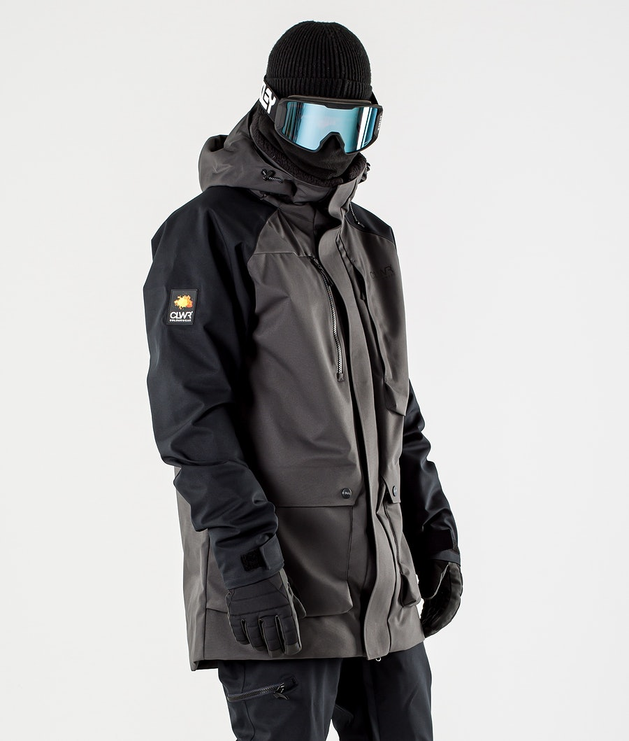 ColourWear Spine Ski Jacket Antracithe