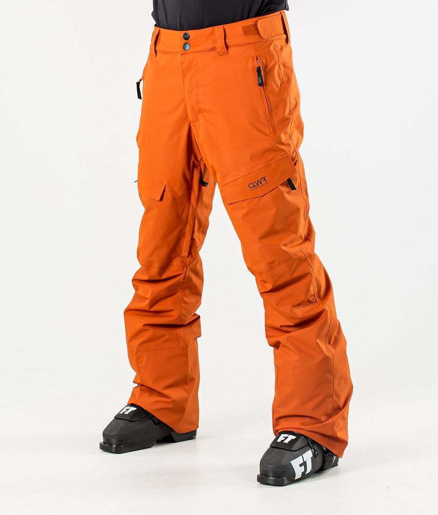 ColourWear Tilt Ski Pants Dark Orange