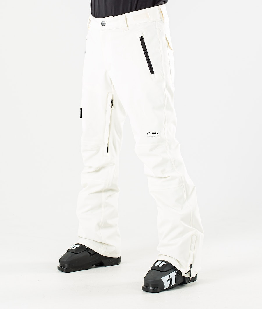 ColourWear Sharp Ski Pants Offwhite