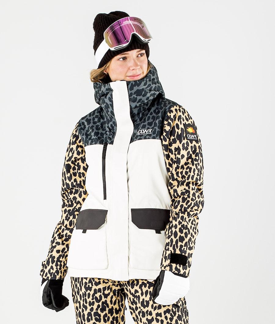 ColourWear Square Ski jas Offwhite