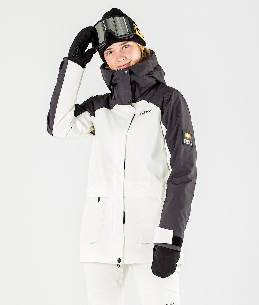 ColourWear Blaze Ski Jacket Offwhite