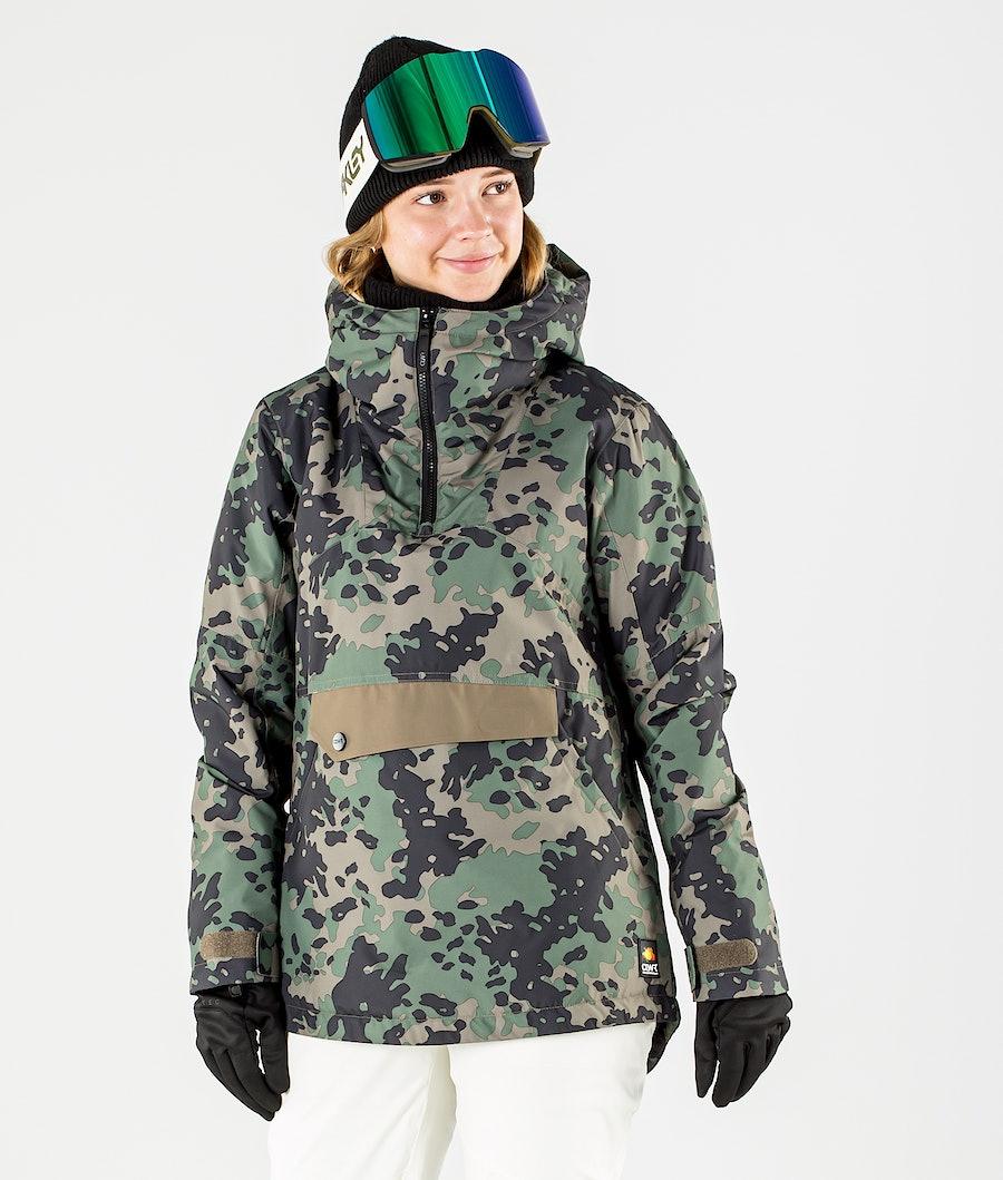 ColourWear Homage Anorak Ski jas Khaki