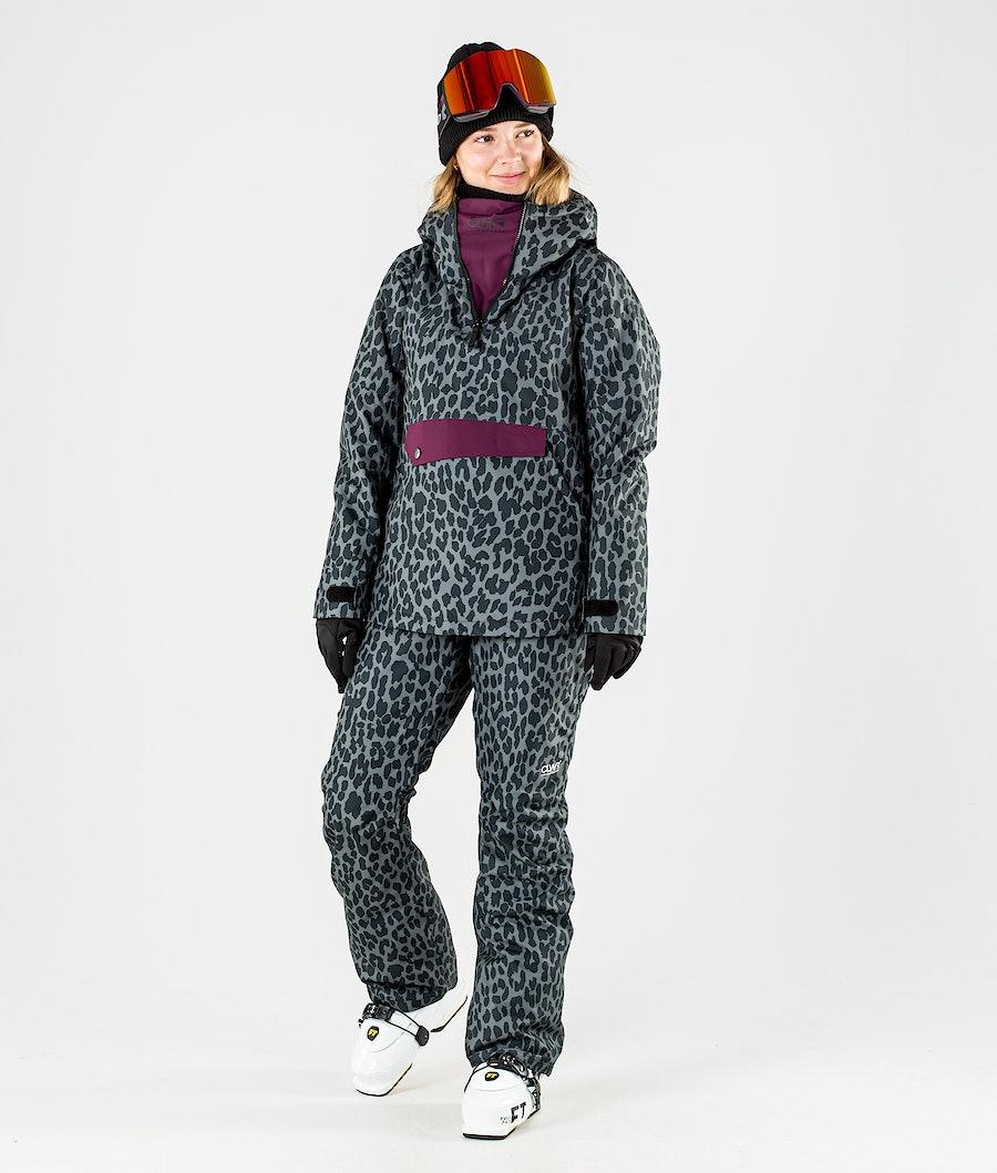 ColourWear Homage Anorak Ski jas Dames Black