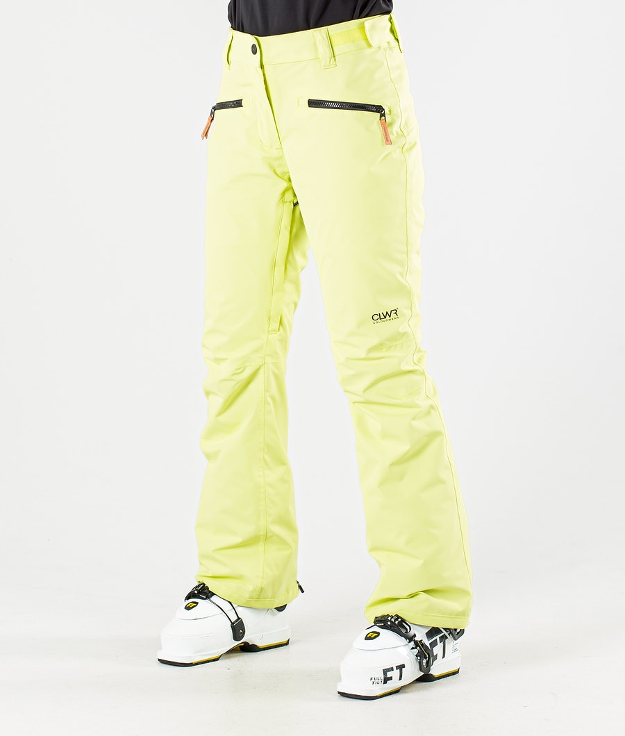ColourWear Cork Pantalon de Ski Yellow
