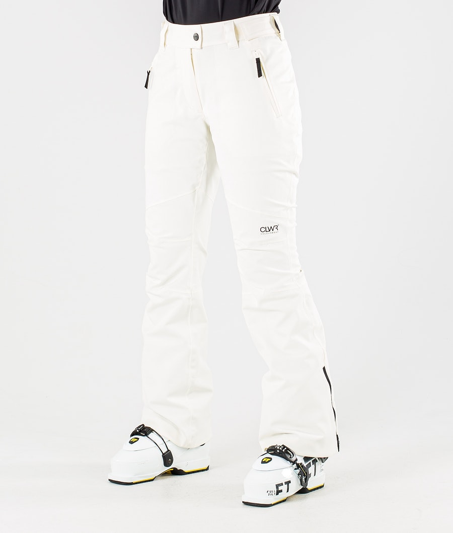 ColourWear Blaze Pantalon de Ski Offwhite