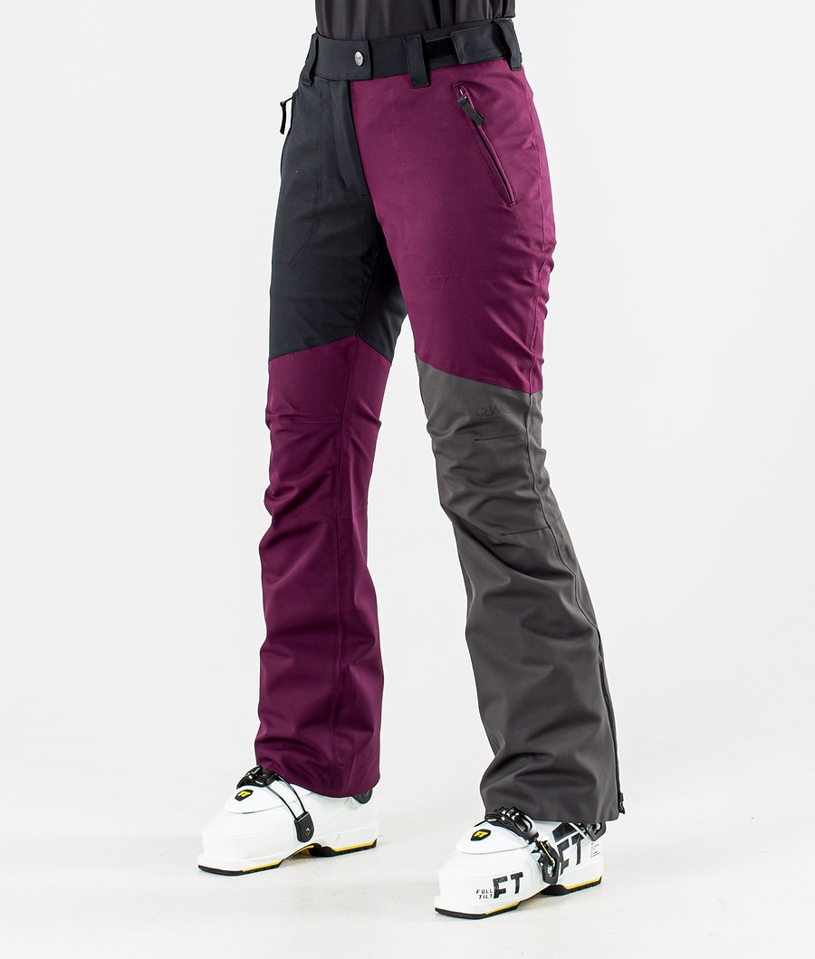 ColourWear Blaze Pantalon de Ski Deep Red